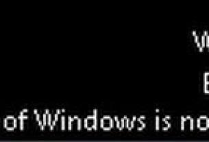 This Copy Of Windows Is Not Genuine Error Windows 7 Fixed
