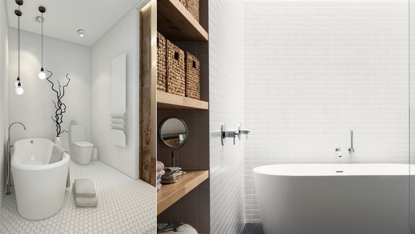 Inspiração - Decoração de casas de banho