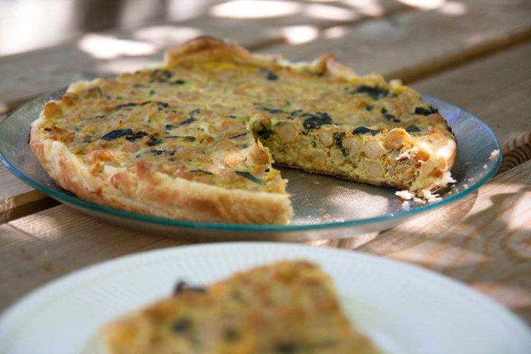 Na Cozinha – Quiche de Atum e Legumes