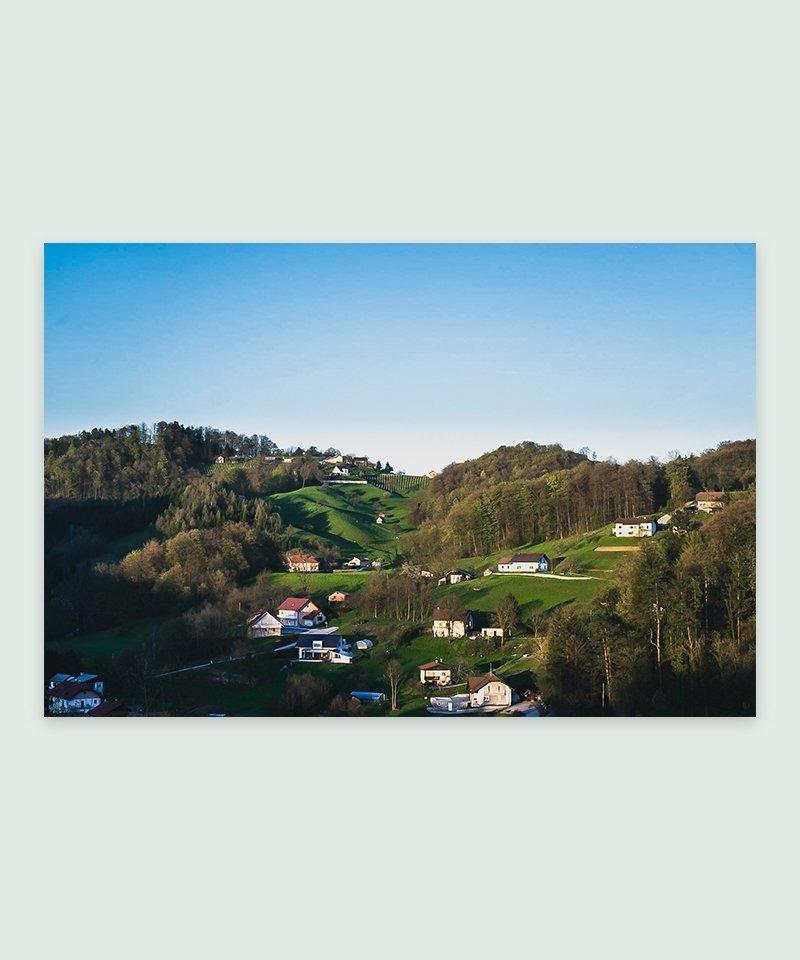 Sevnica Eslovénia - Foto impressa   Meio Cheio