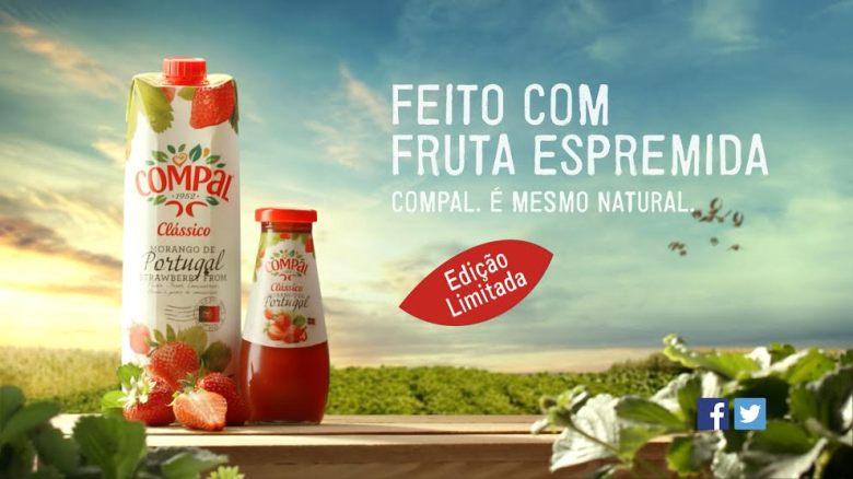 Compal comunica edição especial de morango português - Meios ...