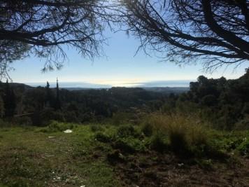 Uitzicht onderweg Ronda