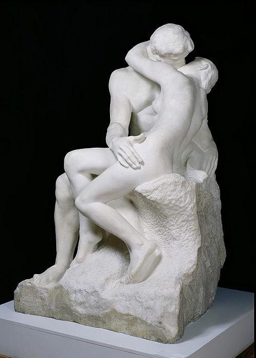 der kuss 1888 98 marmor