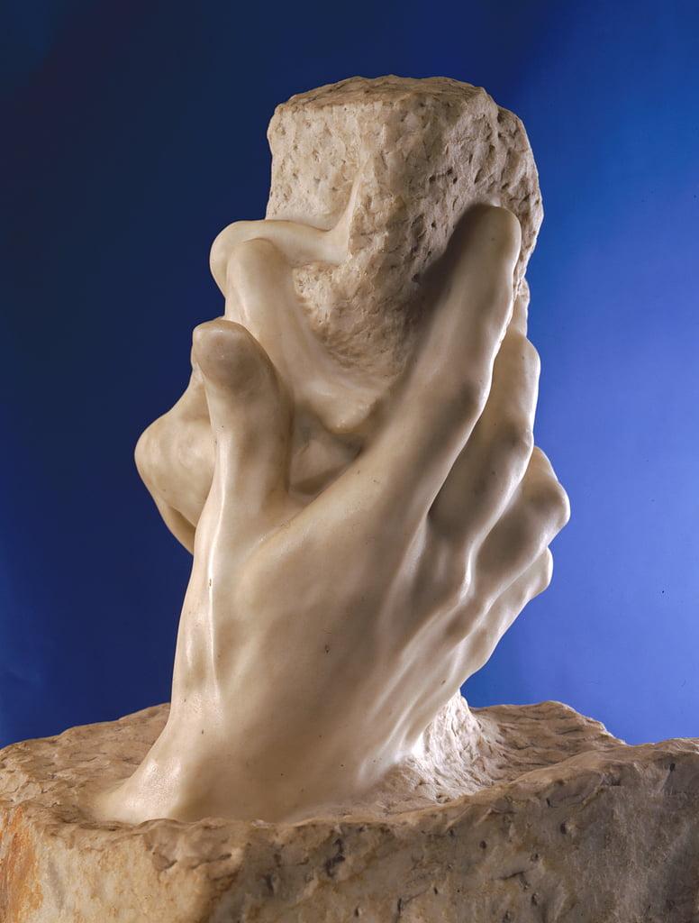 die hand gottes 1898 marmor