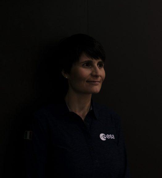 Die Astronautin Samantha Cristoforetti, fotografiert von Gerald von Foris