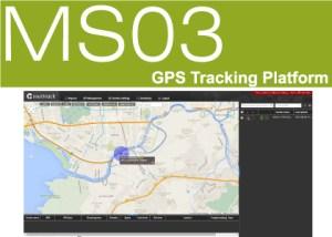 GPS Tracking platform MS03