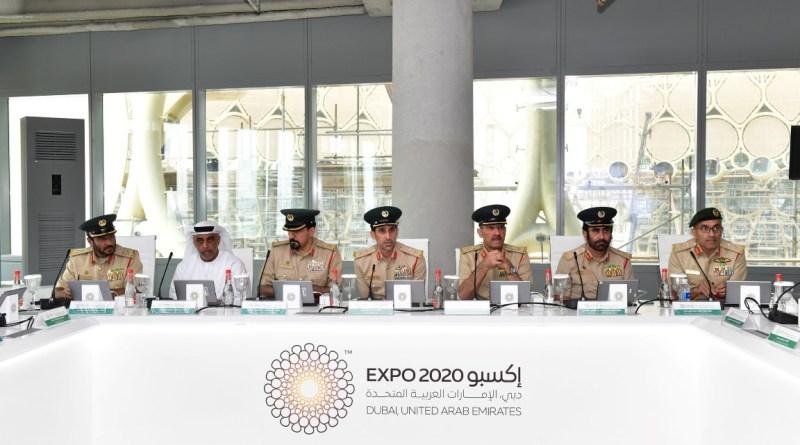 أعضاء اللجنة التنفيذية لاكسبو 2020، تتبع المجلس الأمني للتحضير لاستضافة معرض اكسبو الدولي 2020، برئاسة عبدالله خليفه المري، القائد العام لشرطة دبي