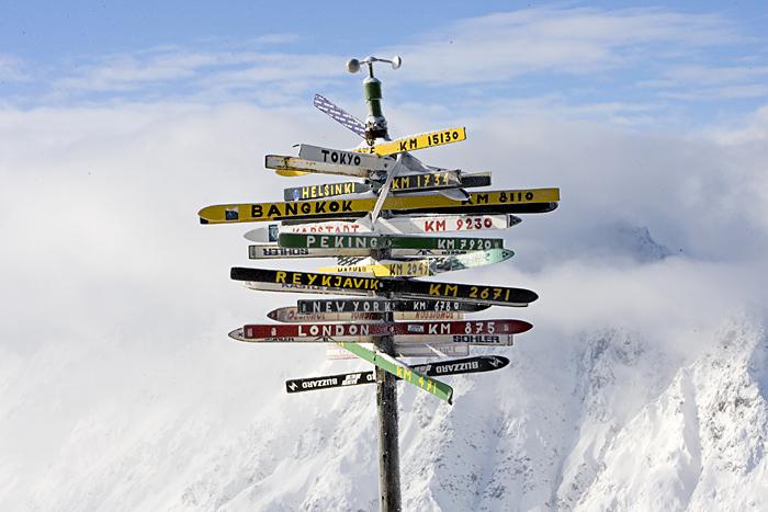 Ischgl Østrig. Mens vi venter på sneen...