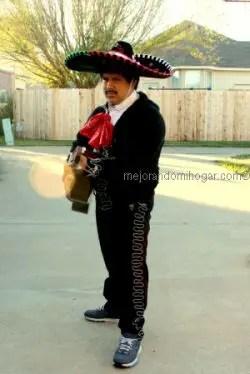 Como hacer Disfraz de Mariachi para la Independencia Mexico 84cabdab817