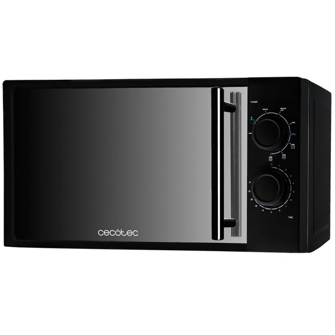 Microondas cecotec all black 700w con grill interior