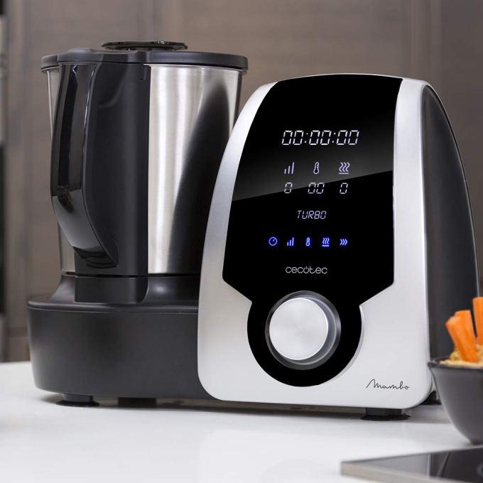 Cecotec Mambo Black. Mejor robot de cocina en calidad y precio.