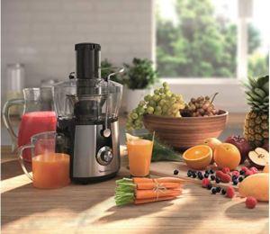 Licuadora Moulinex Juice Express JU550D10 con frutas