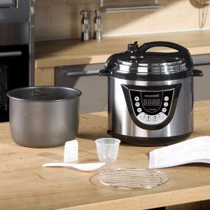 Robot de cocina tipo olla programable New Chef 3d