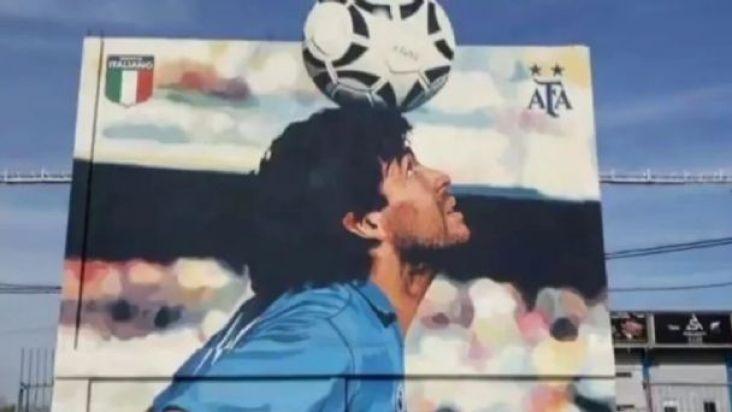 Inauguran un nuevo mural de Diego | Mejor Informado