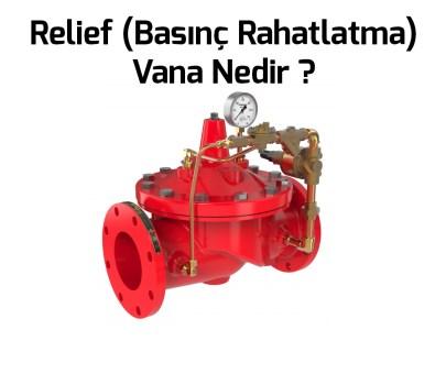 Relief Vana Nedir? Ani Basınç Tahliye Vanası