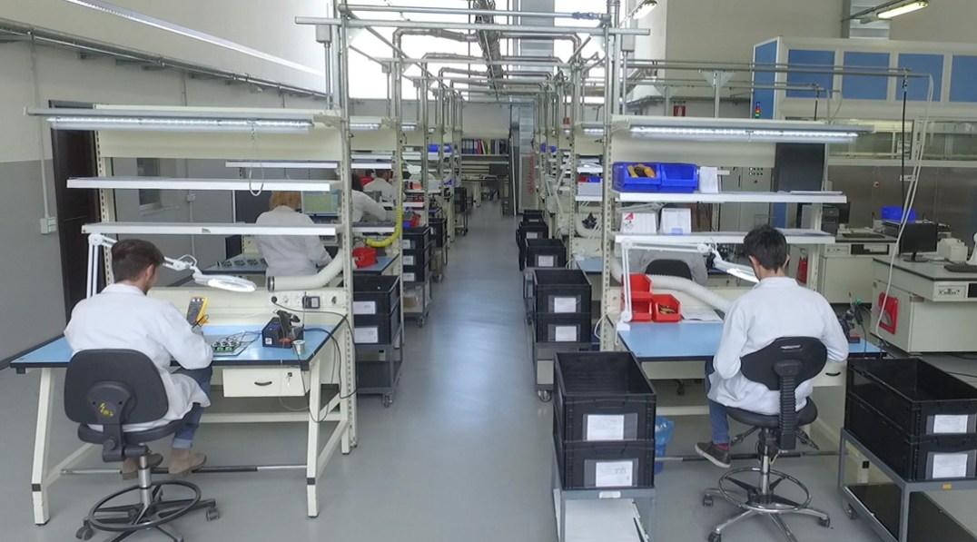 Veduta di reparto / View of the department