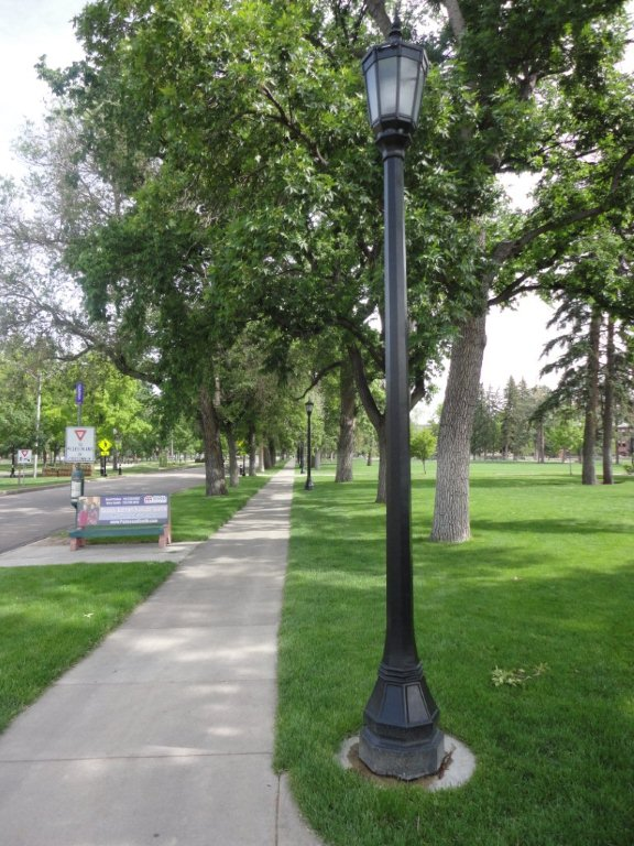 melro construction Colorado College Campus Lighting