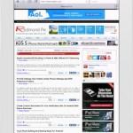 iPad 2 safari mobile test velocità