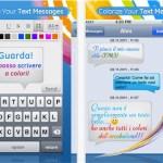 Applicazione Colorize You Text Message AppStore