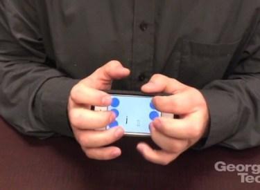 BrailleTouch applicazione linguaggio Braille