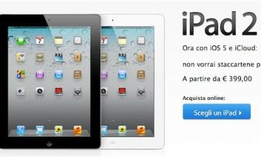 prezzo vendita iPad 2