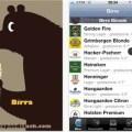 applicazione Birra per iPhone