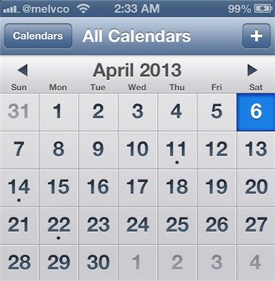 Calendario-iOS