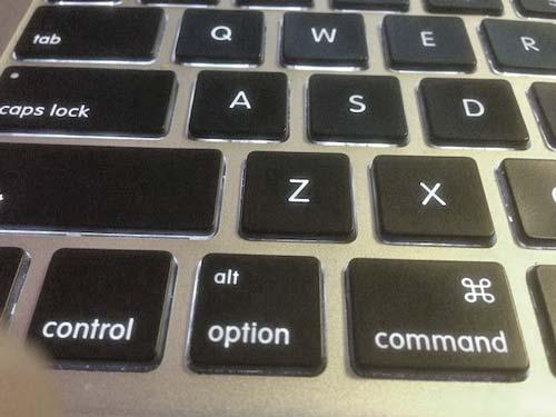 tasti scelta rapida Mac