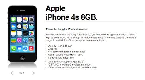 3 Italia iPhone 4S