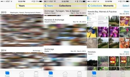 localizzazione foto iPhone