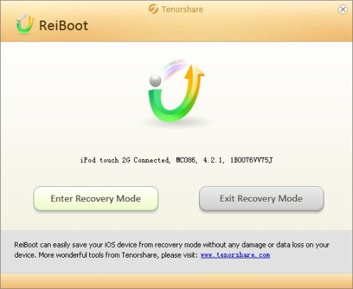 Reiboot recovery mode