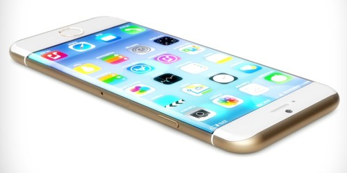iphone 6 display curvo