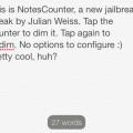 NotesCounter-Cydia