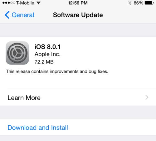 iOS-8.0.1-aggiornamento