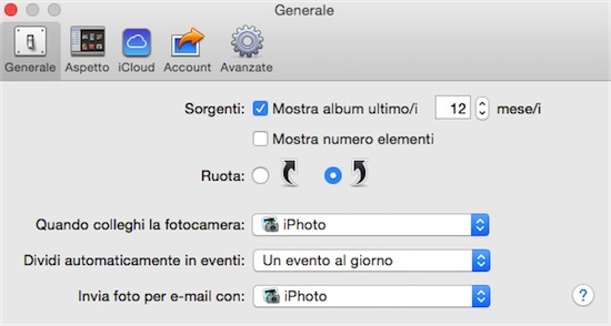 foto da iphone senza iphoto