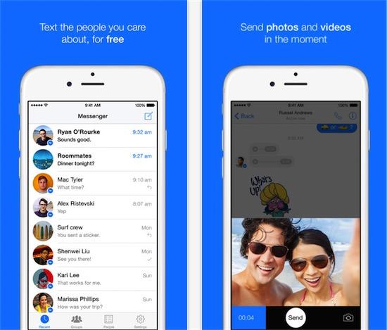 Messenger Facebook app