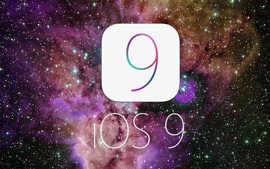 iOS 9 mockup logo