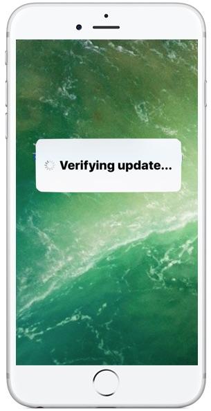 verifica aggiornamento iPhone