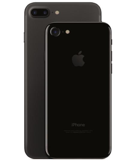 iPhone 7 jet black vs nero opaco