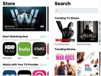 Applicazione TV iOS 10.2