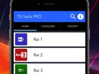 guardare i canali Tvsu iphone e ipad TV Italia Pro