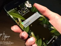iPhone 8 display curvo