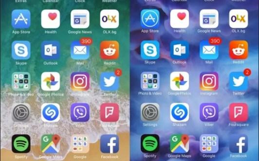 iOS 11 vs iOS 10 scopriamo le differenze grafiche