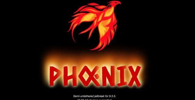 Jailbreak iOS 9.3.5 Phoenix lo rilascia per i device a 32 bit