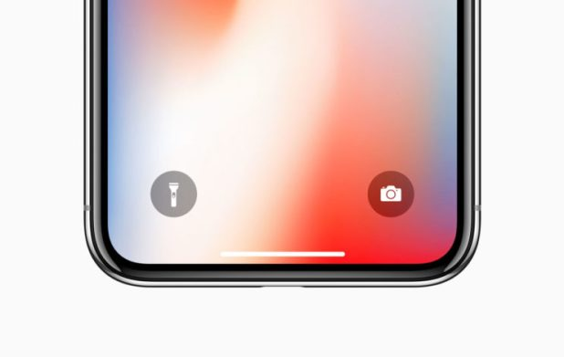 iPhone X interfaccia