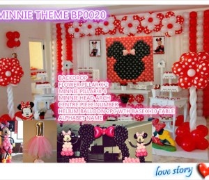 MINNIE THEME BP0020