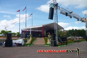 event staging setup malaysia