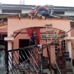 Roof work CKS1