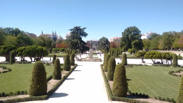 morando em Madrid
