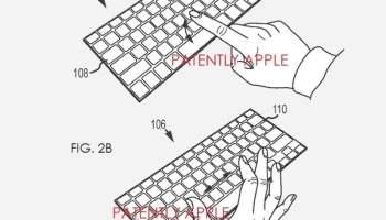 brevetto Smart Keynoard trackpad